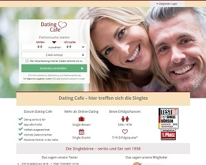 Screenshot DatingCafe.de