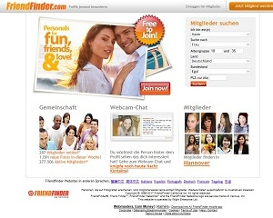 Screenshot FriendFinder.com