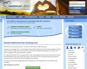 Screenshot Handicap-Love.de