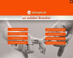 Screenshot JobSingles.de