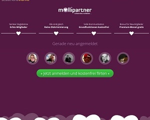 Screenshot mollipartner.de