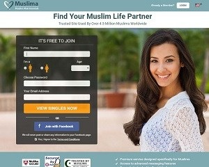 Screenshot Muslima.com