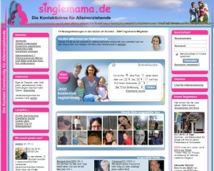Screenshot singlemama.de