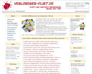 Screenshot Verlorener-Flirt.de