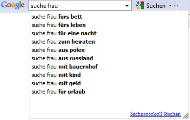 Google Suche Frau